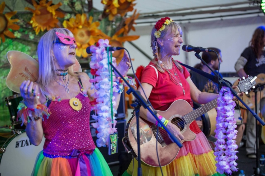 The Twisted Sisters - Sunflowerfest 2017, Tubby's Farm