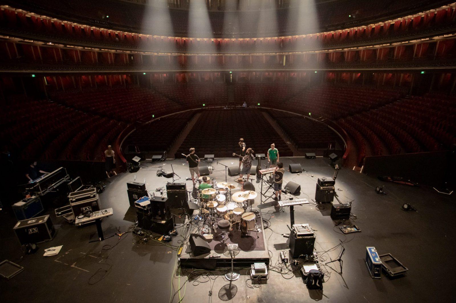 Toucan live at the royal albert hall. live music london, cmcguigan, chris mcguigan photography
