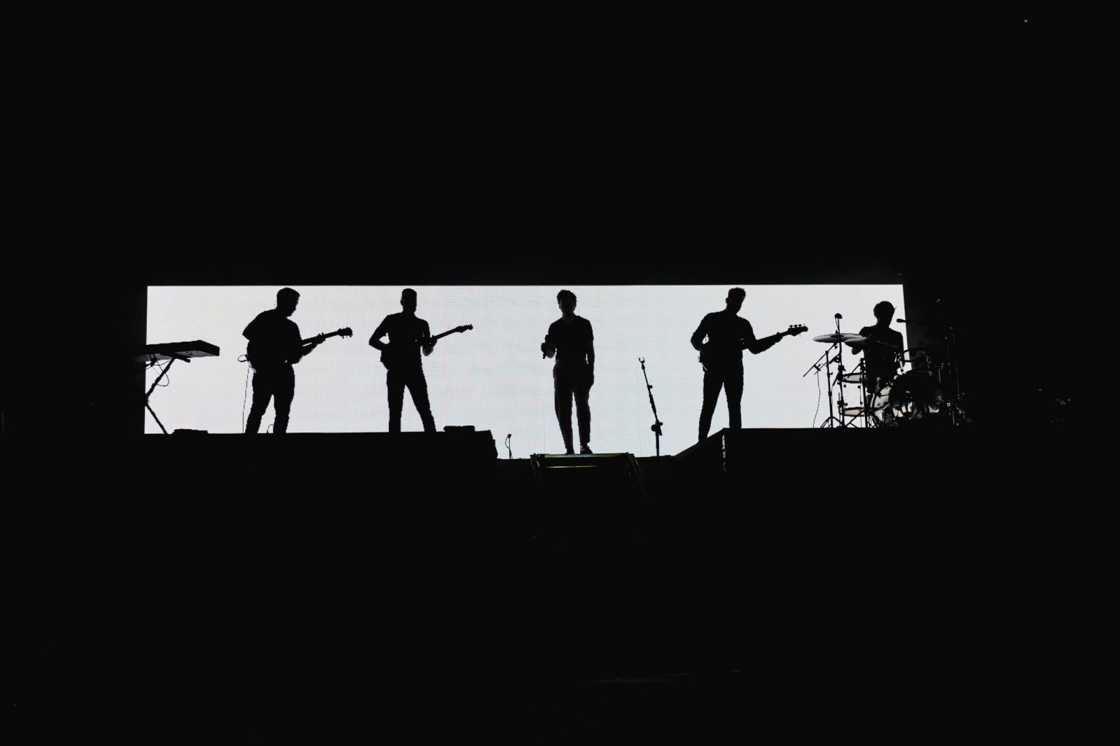 black and white silhouette Picture This