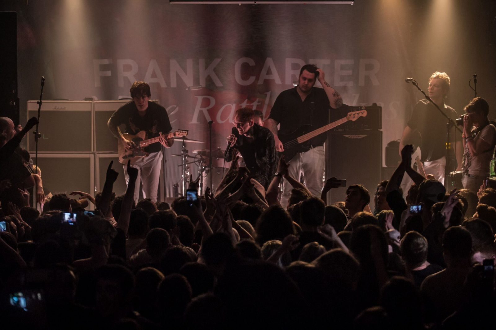 Frank Carter & The Rattlesnakes @ Oh Yeah Music Centre 12