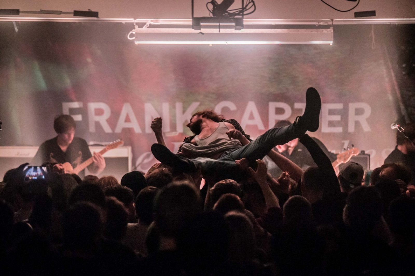 Frank Carter & The Rattlesnakes @ Oh Yeah Music Centre 13