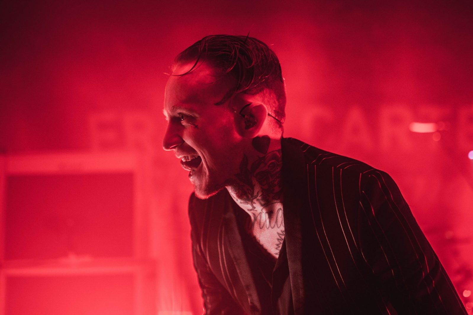 Frank Carter & The Rattlesnakes @ Oh Yeah Music Centre 42