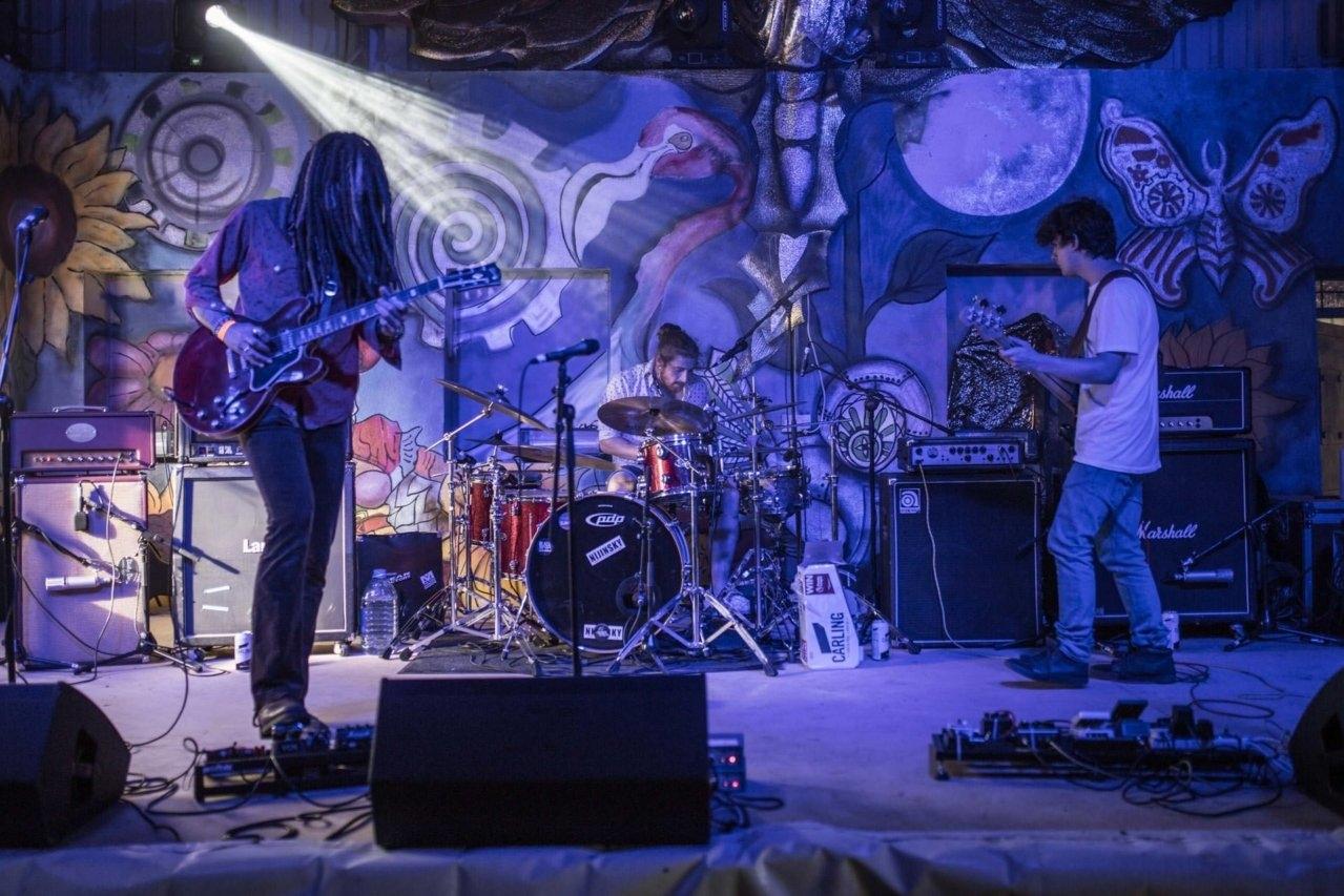 Electric Octopus - Sunflowerfest 2017, Tubby's Farm