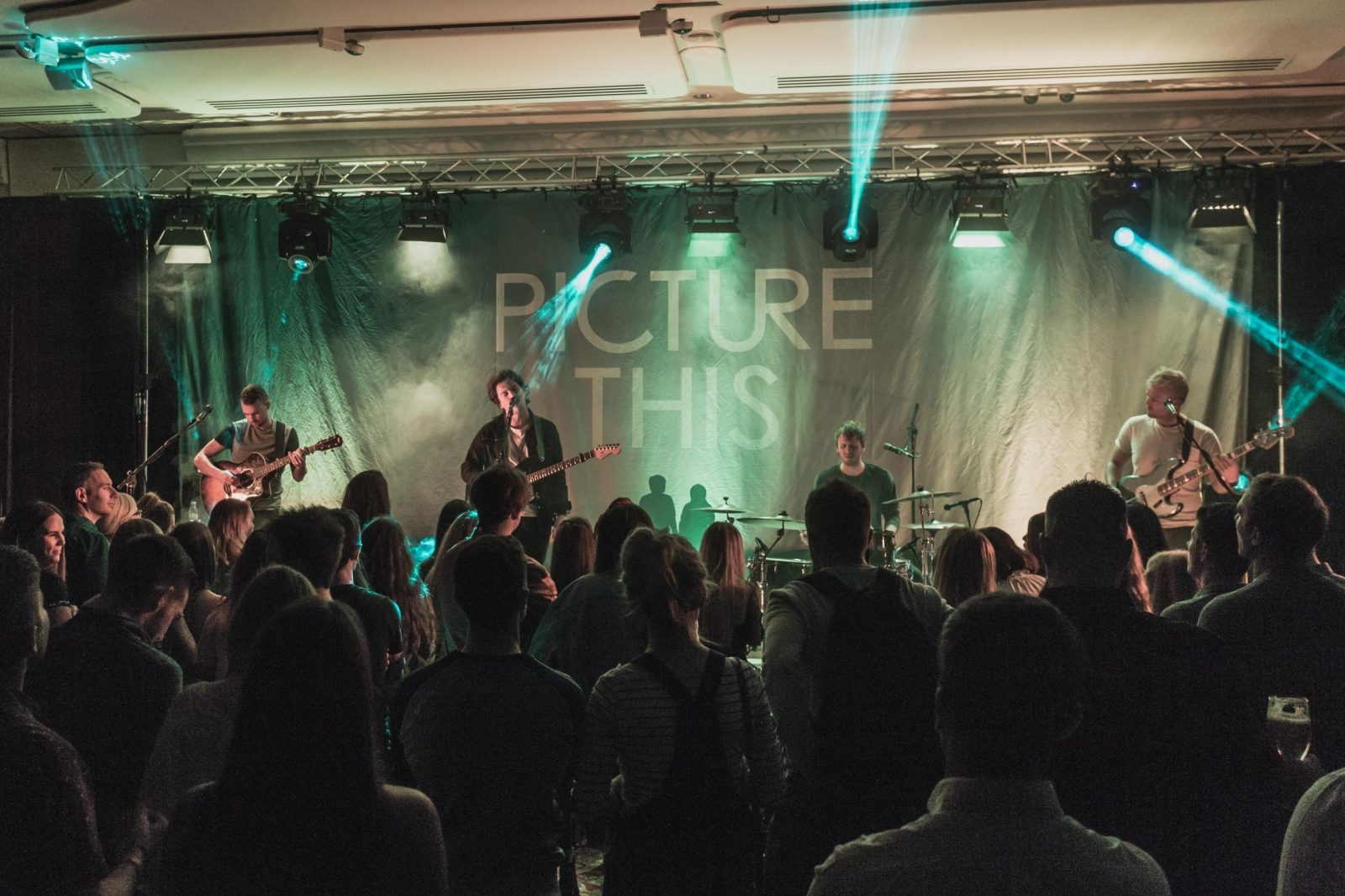 Picture This playing a secret gig at The Europa Hotel before their upcoming show at the SSE Arena, Belfast.