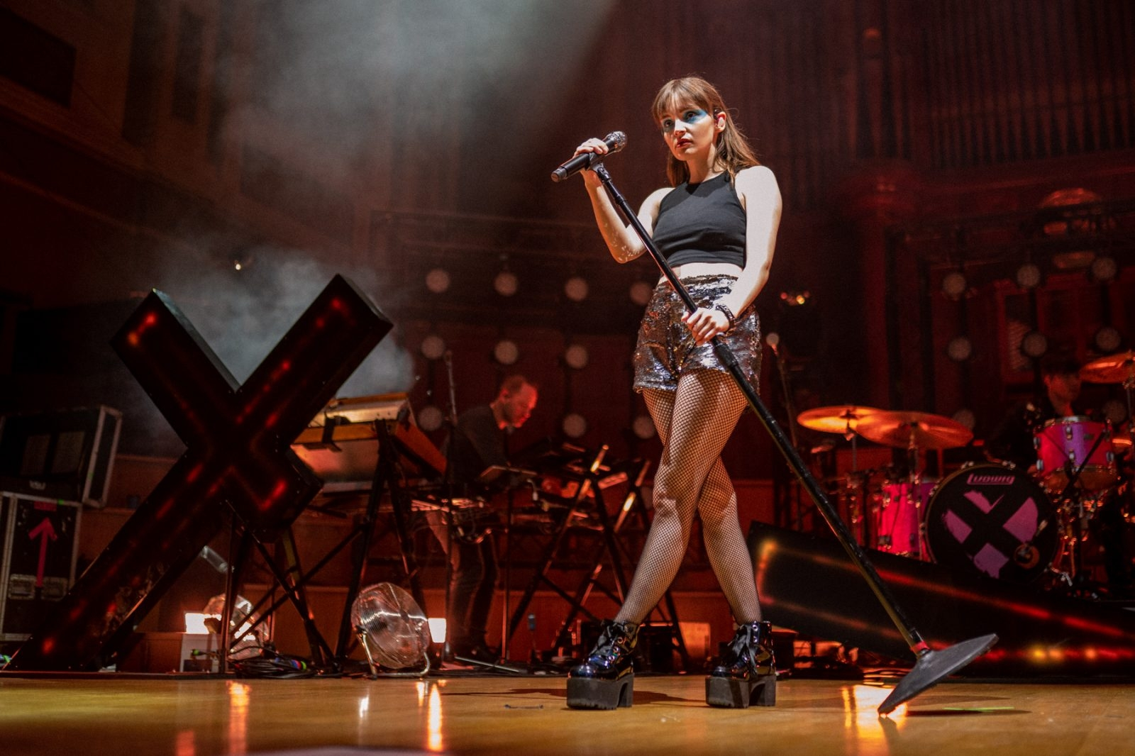 CHVRCHES live at the Ulster Hall, Belfast. Photos By Chris McGuigan Photography
