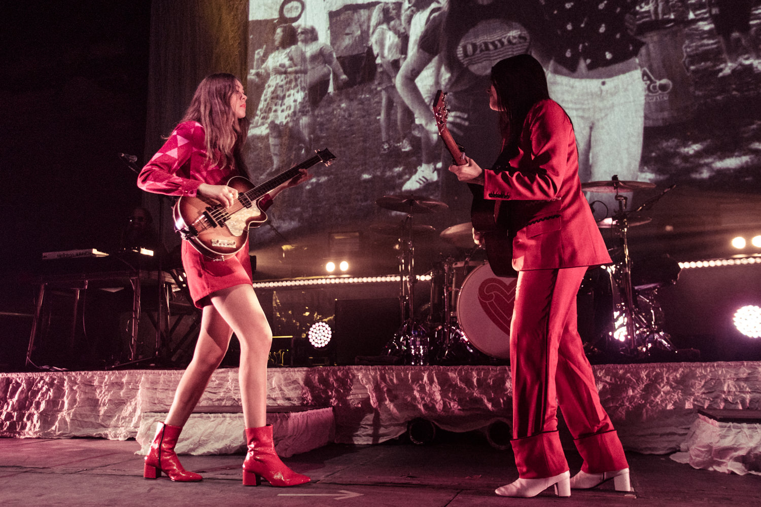 Klara and Johanna Söderberg from First Aid Kit Belfast