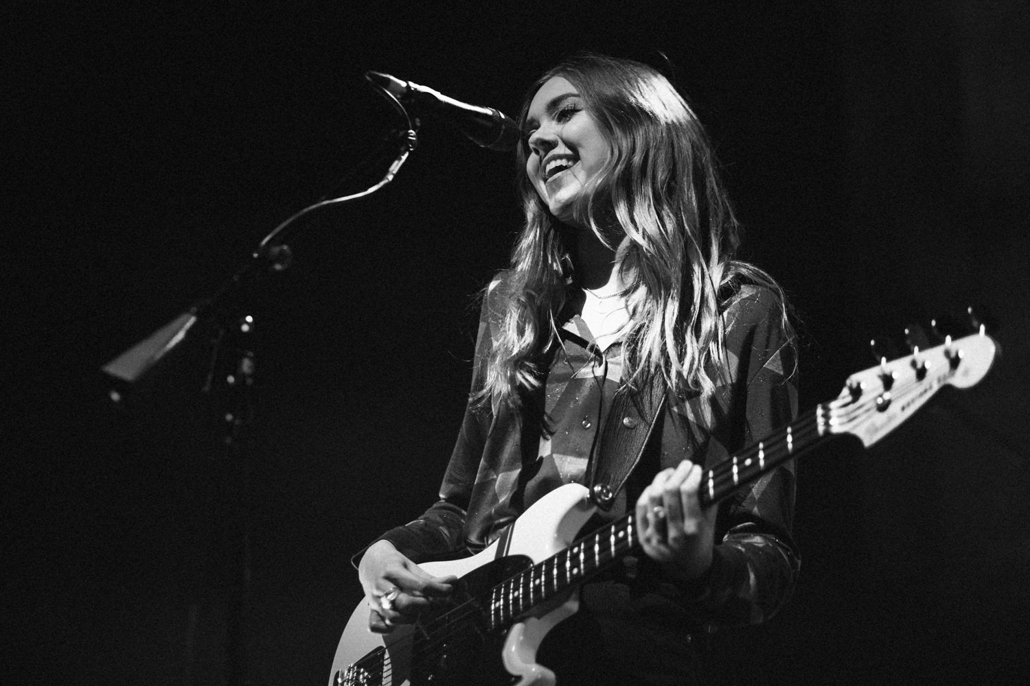Johanna Söderberg First Aid Kit smiling Black and white